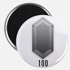 Silver Rupee (100) - Magnet