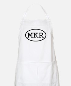 MKR Oval BBQ Apron