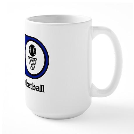 Eat, Sleep, Play Basketball Large Mug