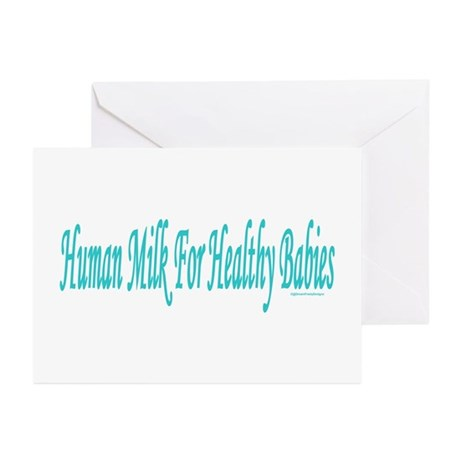 Healthy Babies Greeting Cards (Pk of 10)