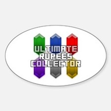 Ultimate Rupees Collector - Oval Decal