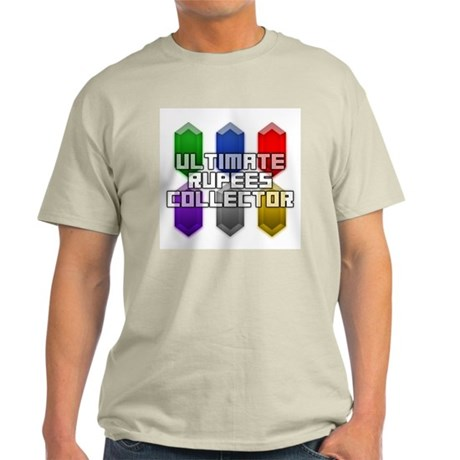 Ultimate Rupees Collector - Ash Grey T-Shirt