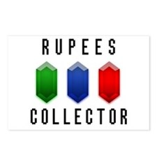 Rupees Collector - Postcards (Package of 8)