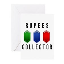 Rupees Collector - Greeting Cards (Pk of 10)