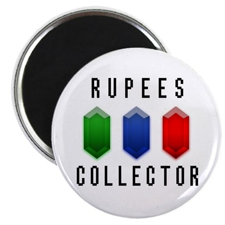 "Rupees Collector - 2.25"" Magnet (10 pack)"