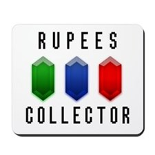 Rupees Collector - Mousepad