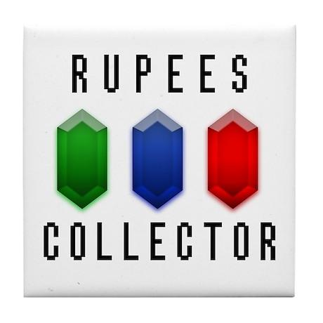 Rupees Collector - Tile Coaster