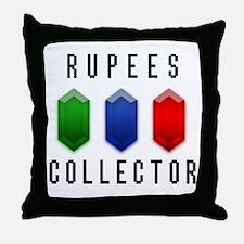 Rupees Collector - Throw Pillow