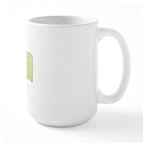 Coastal Stripe Groom Large Mug