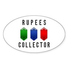 Rupees Collector - Oval Decal