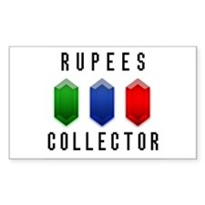 Rupees Collector - Rectangle Decal