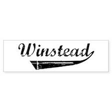 Winstead (vintage) Bumper Bumper Sticker