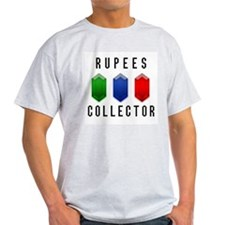 Rupees Collector - Ash Grey T-Shirt
