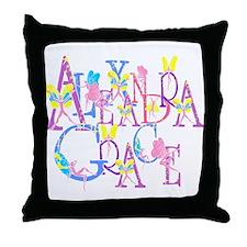 ALEXANDRA GRACE (faries) Throw Pillow