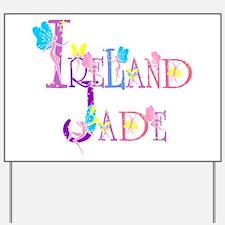 IRELAND JADE (faries) Yard Sign