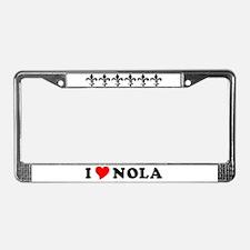 Nola License Plate Frame