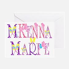 McKENNA MARIE Greeting Card