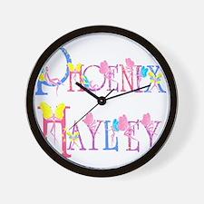 PHOENIX HAYLEY Wall Clock