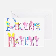 PHOENIX HAYLEY Greeting Card