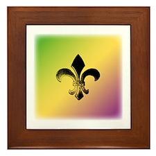 Color Fleur Framed Tile