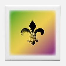 Color Fleur Tile Coaster