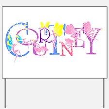 COURTNEY Yard Sign