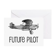 Future Pilot Greeting Card