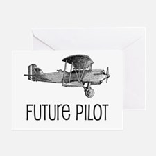 Future Pilot Greeting Card