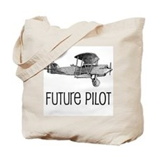 Future Pilot Tote Bag