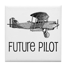 Future Pilot Tile Coaster
