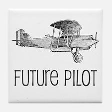 Future Pilot Tile Coaster