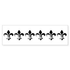 six fleur Bumper Bumper Sticker