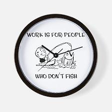Fishing Fun Wall Clock