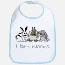 Cute bunnies Bib