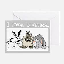 Cute bunnies Greeting Cards (Pk of 10)