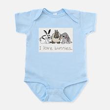 Cute bunnies Infant Creeper