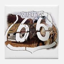 drive or die 66 Tile Coaster