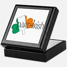 Part Irish Shamrock Keepsake Box