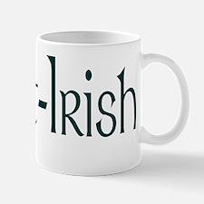 Part Irish Shamrock Mug