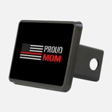 Firefighter: Proud Mom (Bl Hitch Cover