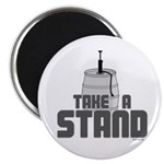 "Take a Stand 2.25"" Magnet (10 pack)"