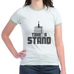 Take a Stand Jr. Ringer T-Shirt