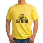 Take a Stand Yellow T-Shirt