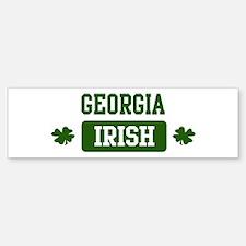 Georgia Irish Bumper Bumper Bumper Sticker