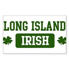 Long Island Irish Rectangle Decal