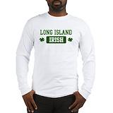 Long island irish Long Sleeve T-shirts