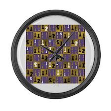 Wearing Suit Wall Clock