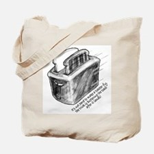 The Flying Toaster Tote Bag