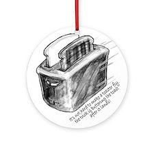 The Flying Toaster Keepsake (Round)