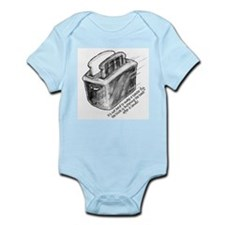 The Flying Toaster Infant Creeper